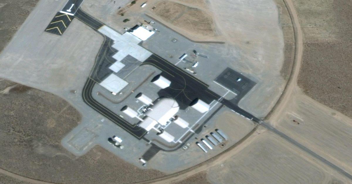 Google Maps Reveals Secret Base With 30 Metre Ufo At Area