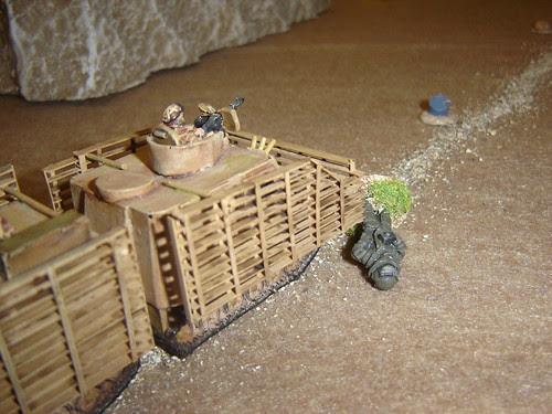 Viking drives alongside wounded EOD officer