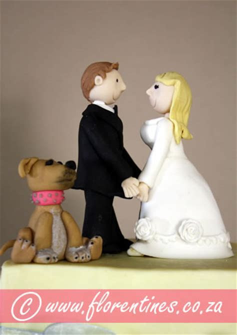 Wedding Cake Toppers at Florentines Cakes   Cape Town
