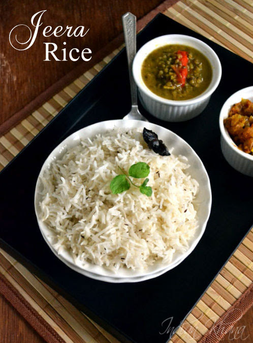 Jeera Rice (Pulao) Recipe Easy Lunch Box Recipes
