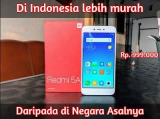 9 Smartphone Terbaik Tahun Ini, Xiaomi Redmi 5A Resmi Dirilis