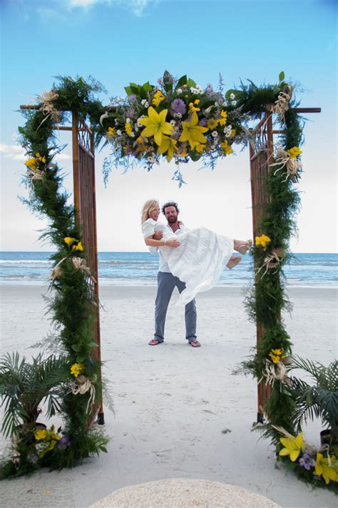 Kelli Giddish & Lawrence Faulborn Beach Wedding 6/20/15