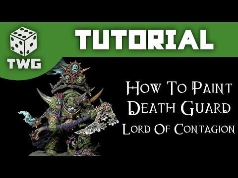 Painting your Death Guard Lord of Contagion