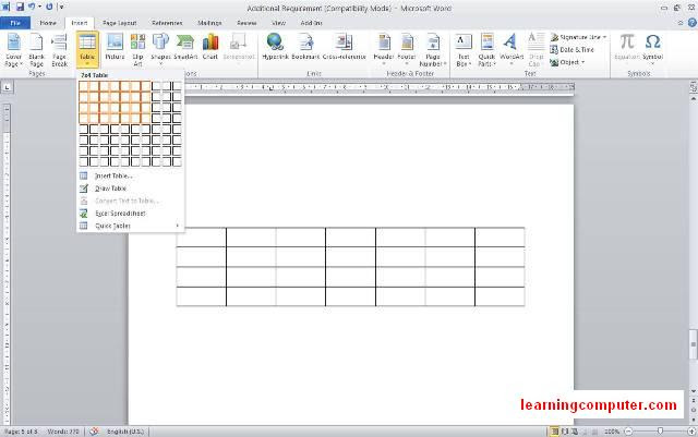word-2010 how to insert a table office-13
