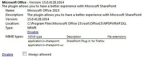 microsoft office plugin