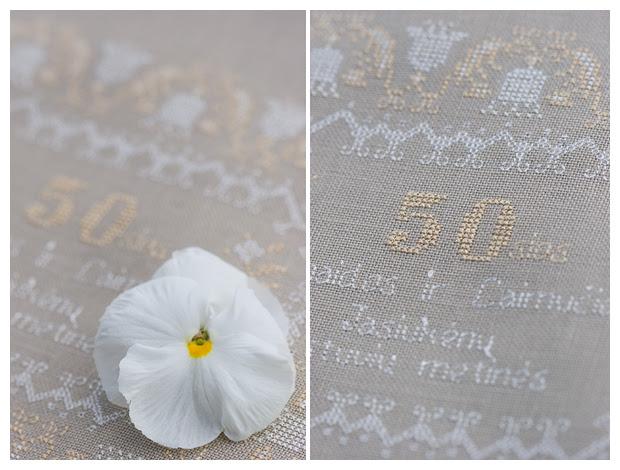 Golden Wedding Anniversary Sampler (Brenda Keyes)