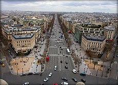 Champs-Élysées from Arc de Triomphe.jpg