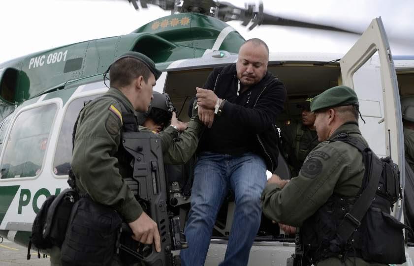 Golpe al narcotráfico en Colombia