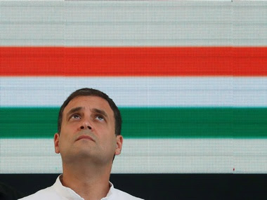 File image of Rahul Gandhi, former president of Congress. Reuters