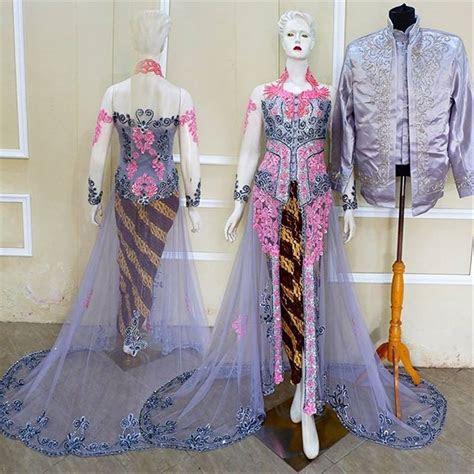 baju kebaya ibu pengantin inspirasi terkini