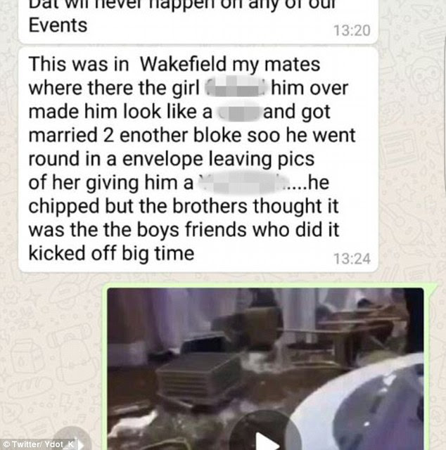 Mystery: There was claim the videos were taken in Wakefield, as part of a revenge plot, but later details emerged linking the videos to Toronto