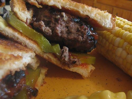 Ranch onion burgers