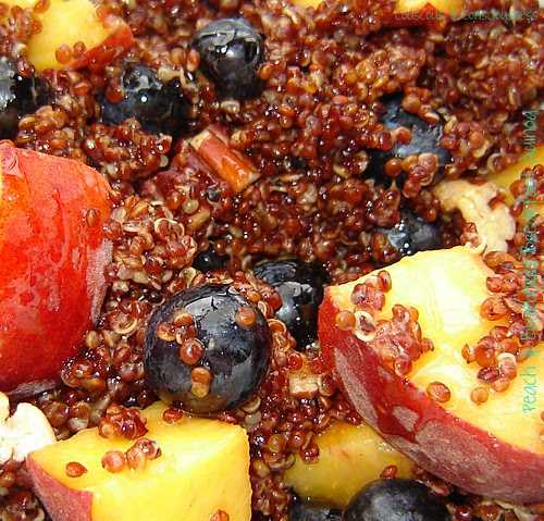 Peach & Blueberry Breakfast Quinoa 1
