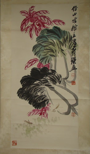 齐白石 QI Baishi - Cabbages