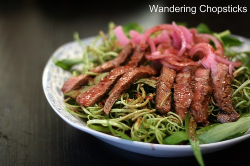 Xa Lach Thit Bo Rau Muong (Vietnamese Beef and Water Spinach Salad) 1