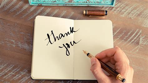 6 right ways to say thank you (in a note)   TODAY.com