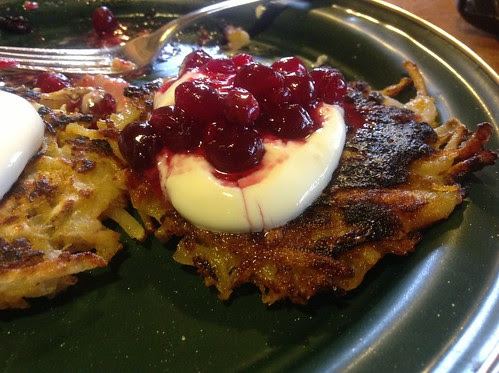 Pumpkin Potato Pancakes