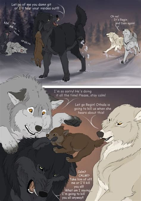 white comic page  wolf comics  white comic