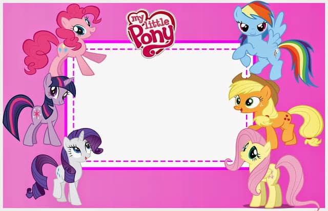 Free My Little Pony Kids Printables Diy Thought
