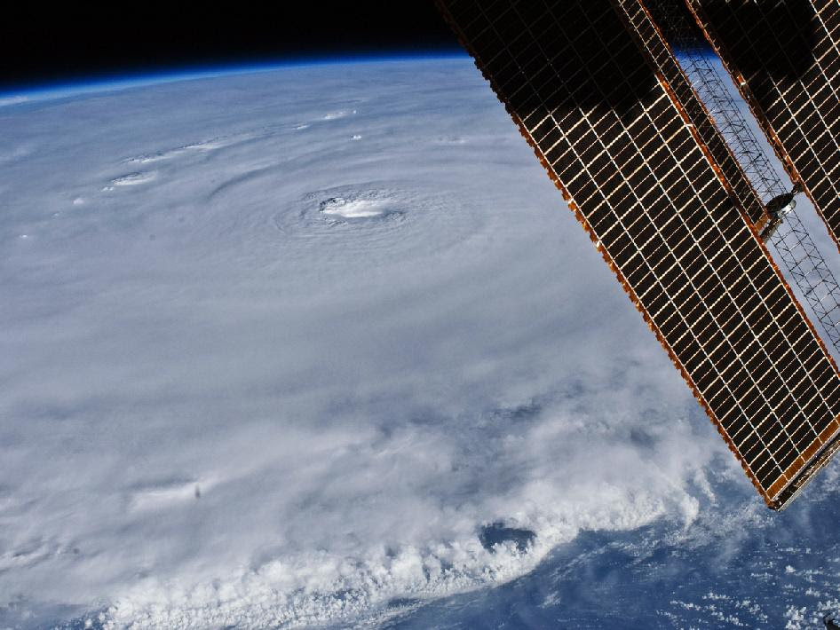 Hurricane Earl seen from the ISS
