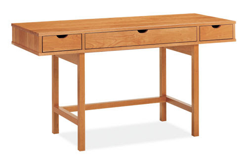 The simple and versatile wood Ellis Desk