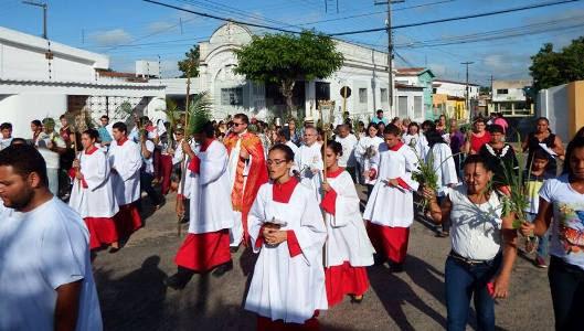 Procissão do Domingo de Ramos(foto:Pascom)