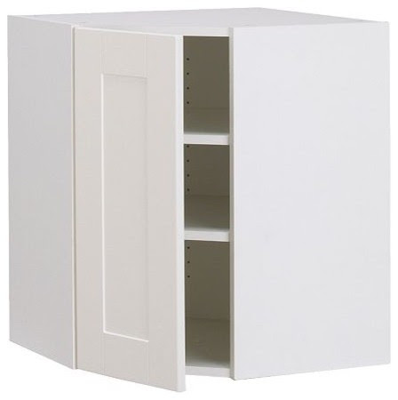 AKURUM Wall corner cabinet - modern - kitchen cabinets - by IKEA