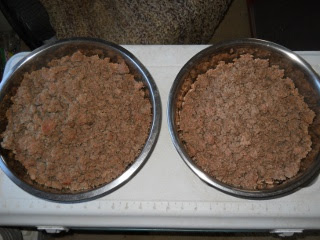 Catalina Our Texas Longhorn Cow Browned Hamburger Meat Ready for Canning
