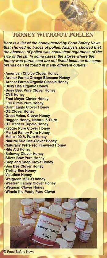 tests show  store honey isnt honey arizona honey market