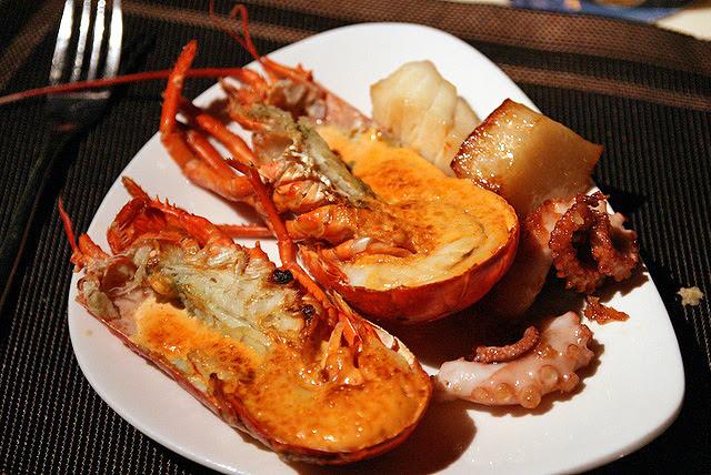Lobster mentaiyaki