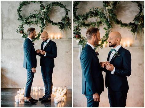 Industrial Gay Wedding in Italy // Wedding photographer