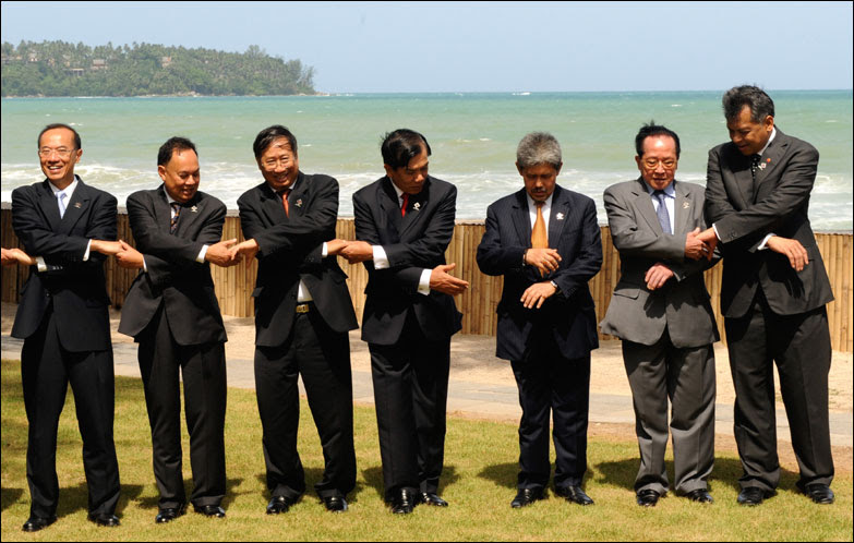 Southeast Asian foreign ministers