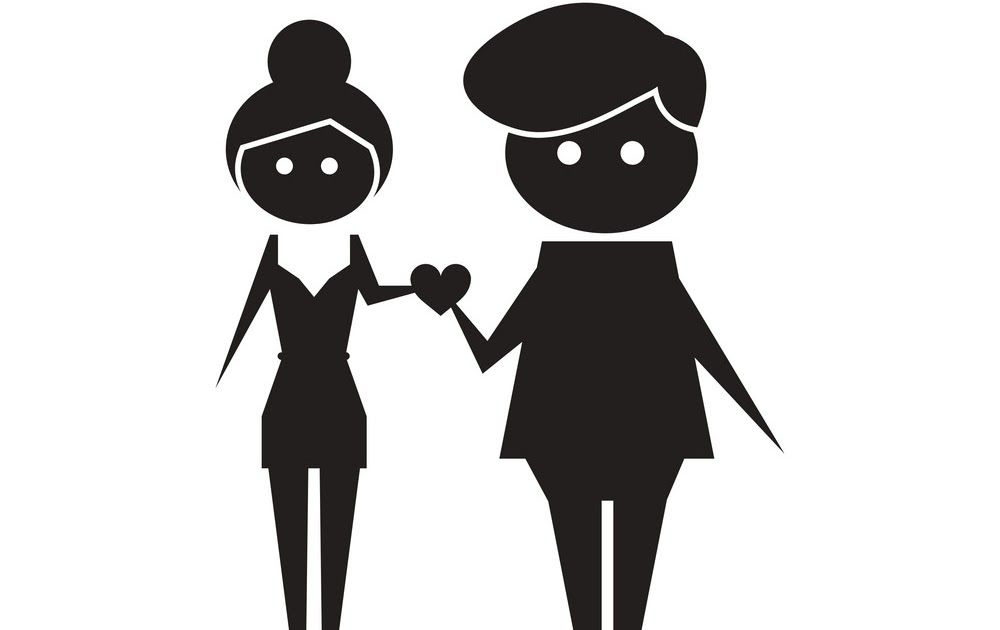 Love Couple Cartoon Images Black And White