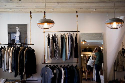 Retail store shopfitting