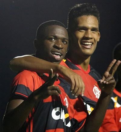 Vinícius Júnior, gol, Flamengo, Flamengo 5x0 Central (Foto: Staff Images/Flamengo)