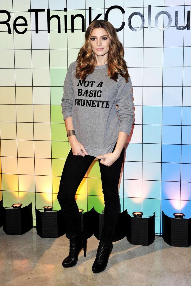 Ashley Greene: John Friedas Brilliant Brunette Visibly Brighter Treatment Event -06