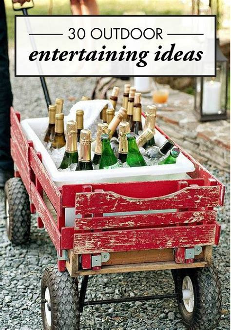 30 Creative Outdoor Entertaining Ideas for the Ultimate