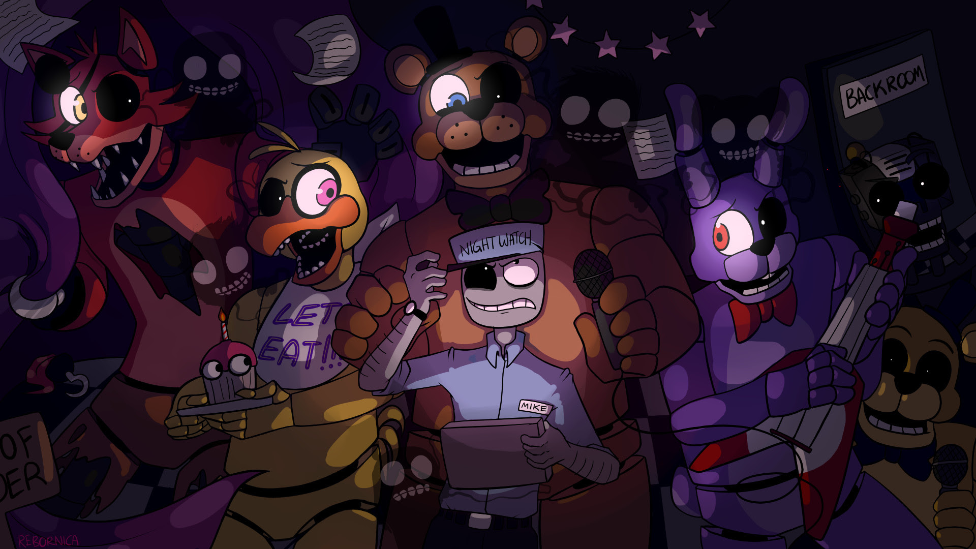Wallpapers Five Nights At Freddys 83 Images