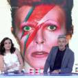 Monica Iozzi lamentou a morte de David Bowie, durante o 'Vídeo Show', chamando o músico de 'gênio'