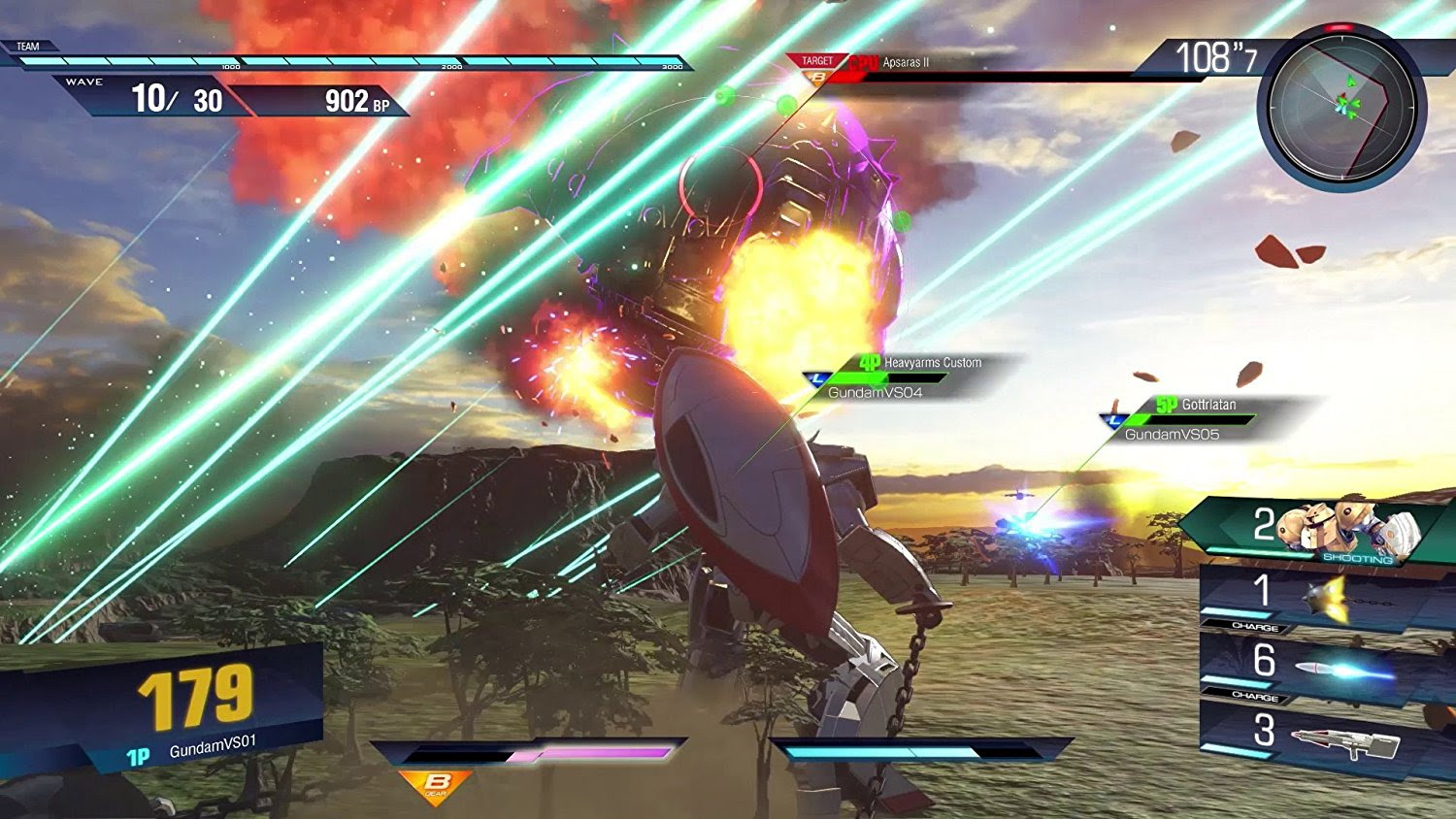 Gundam Versus reveals 12 more Mobile Suits screenshot