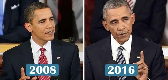 Presidentes que sentiram o peso do governo após o passar dos anos