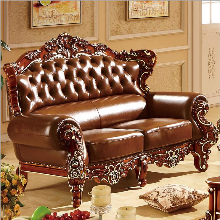 high quality European antique living room sofa furniture ...