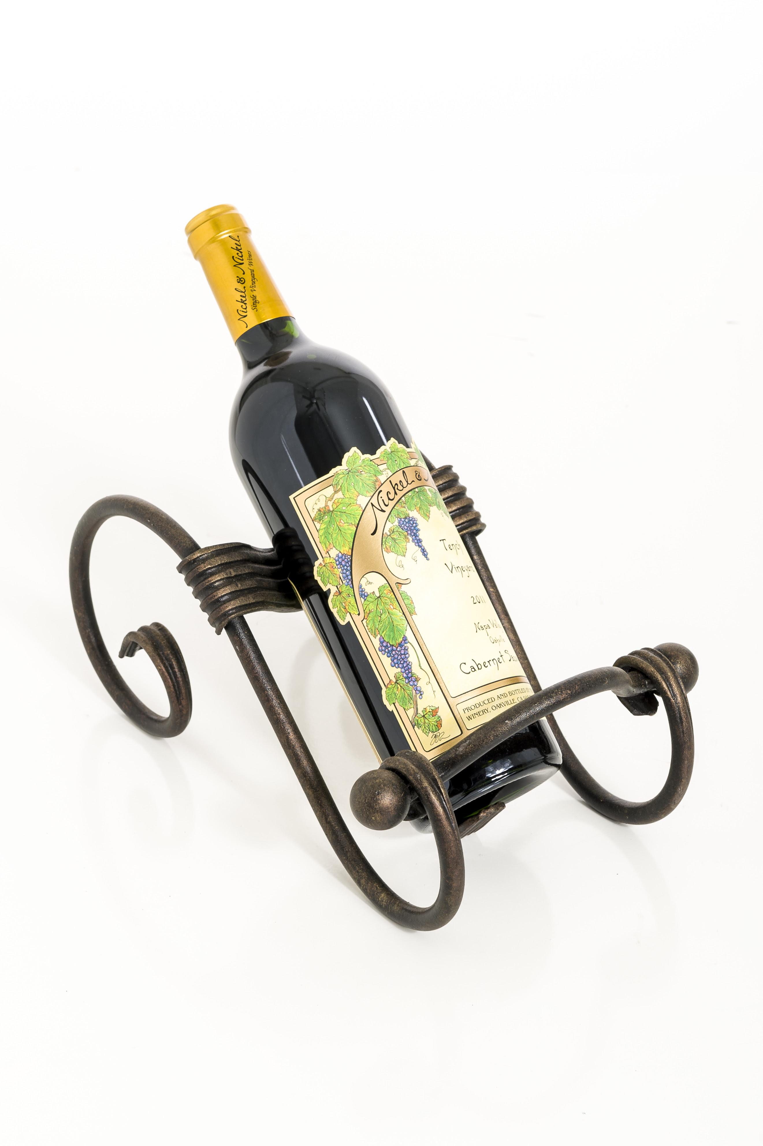 Wine Bottle Holder Ornamental Designs