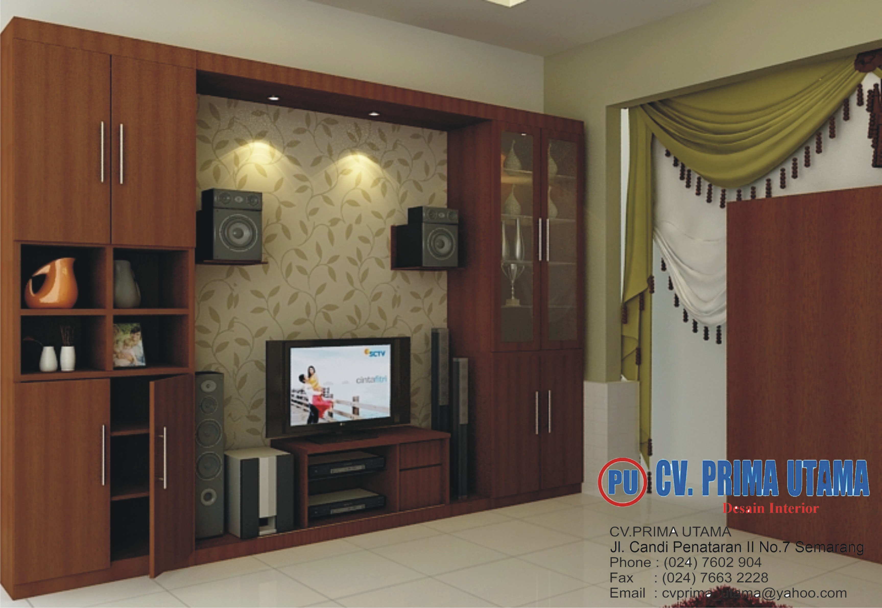Jasa Desain Interior Rumah Di Semarang Jawa Tengah Cv Prima
