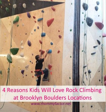 Reasons Kids Will Love Rock Climbing at Brooklyn Boulders Queensbridge
