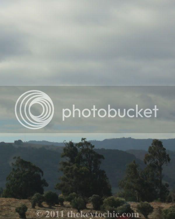 central California hills