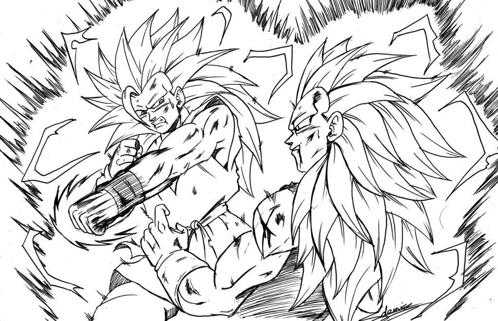 44 Dragon Ball Z Coloring Pages Free Printables , Free HD Download