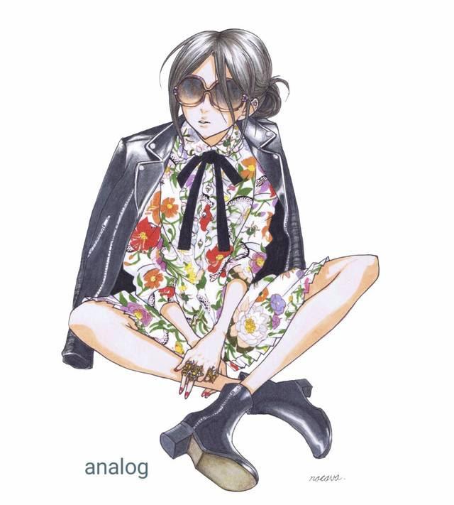 ファッション 似顔絵 イラスト おしゃれ アイコン アート ラグジュアリー