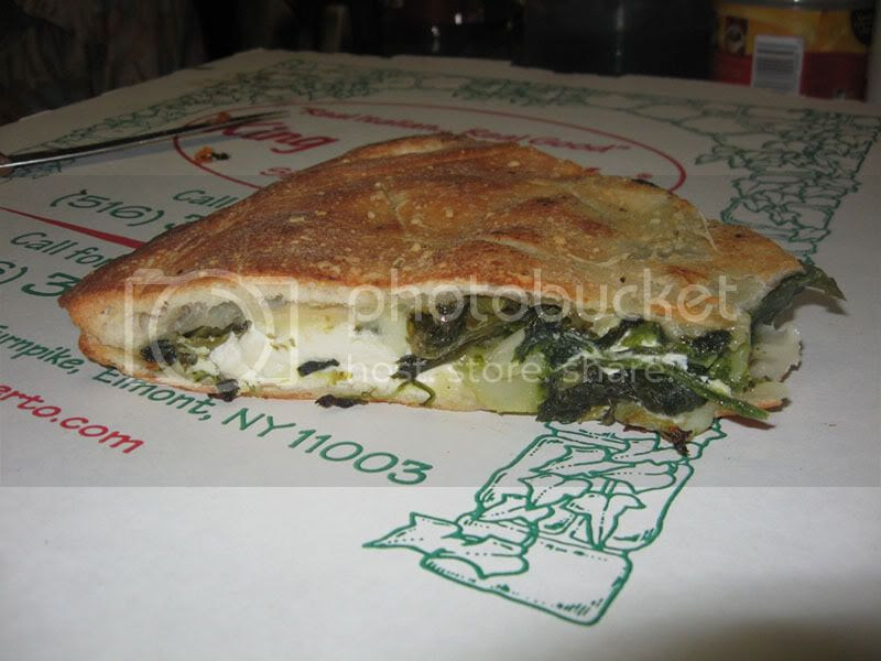 King Umbertos Stuffed Vegetable Pizza