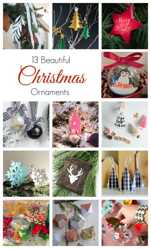 13 beautiful Christmas ornaments from Canadian decor and lifestyle bloggers